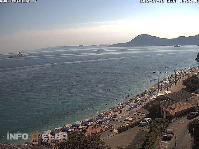 Webcam auf den Strand Le Ghiaie